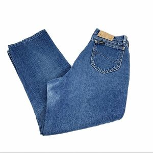 VIntage Lee Medium Wash High Rise Mom Jeans 15 Med